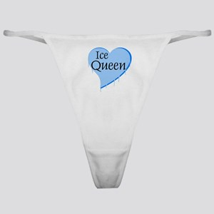 Ice Queens Heart Classic Thong