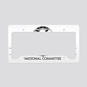 CRNC Logo Black License Plate Holder