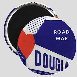 Douglas-gas-map Magnet