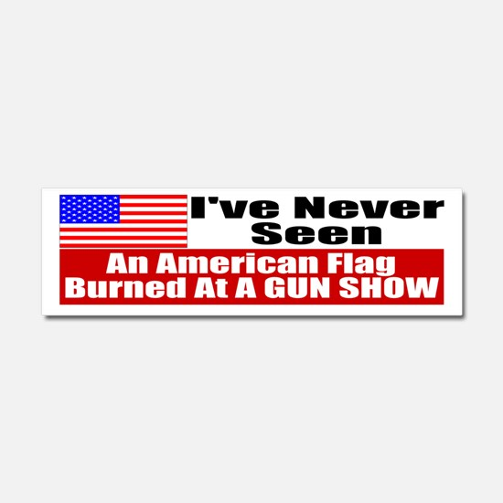 FLAG copy Car Magnet 10 x 3