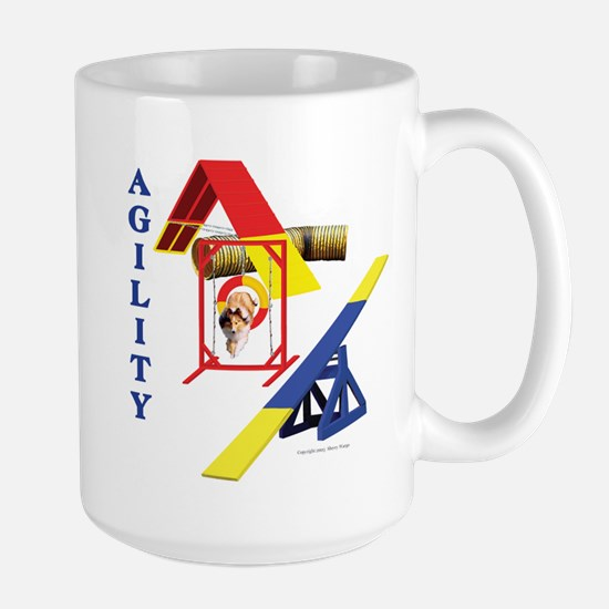 """""""Libby Collage2"""" Large Mug"""