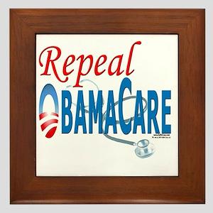 Repeal ObamaCare template 041510 Framed Tile