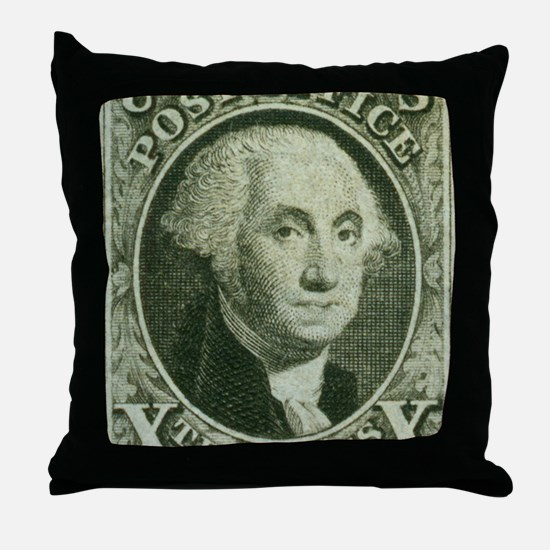 usa-2-Washington Throw Pillow