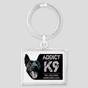 Brandons-dog-logo Landscape Keychain