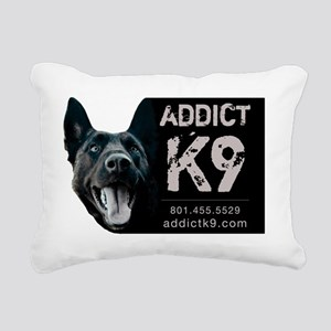 Brandons-dog-logo Rectangular Canvas Pillow