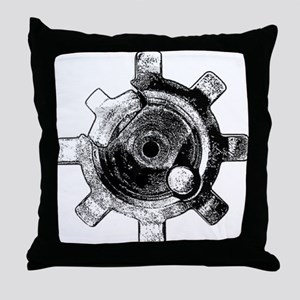 M16 Ejector Throw Pillow