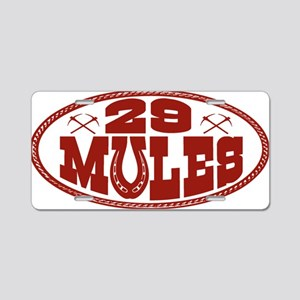 oval_buckle4x2 Aluminum License Plate