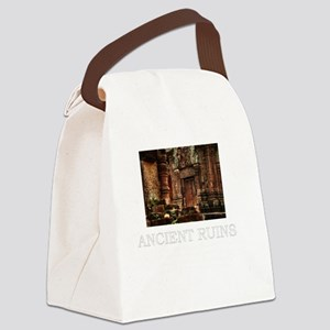 ancient ruins trans3 Canvas Lunch Bag