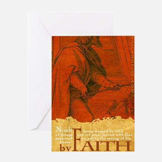Journal_ByFaith_Noah Greeting Card