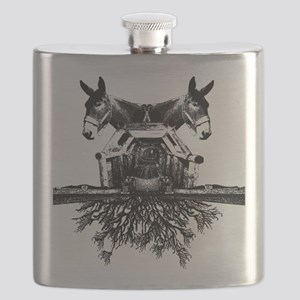 mules_albumcover_shirt Flask