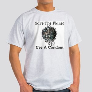 Overpopulation Ash Grey T-Shirt