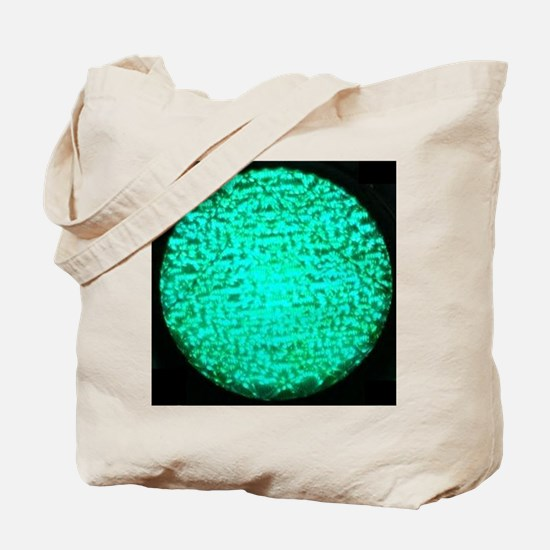 ART Green Light Tote Bag