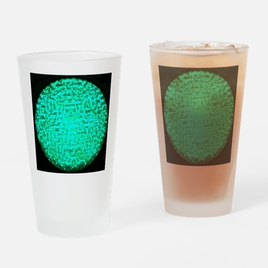 ART Green Light Drinking Glass