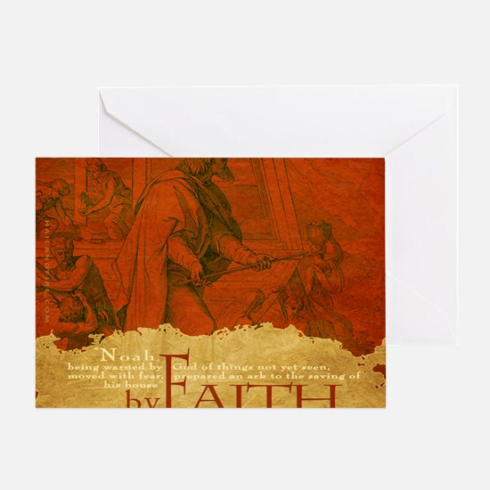 Mousepad_ByFaith_Noah Greeting Card