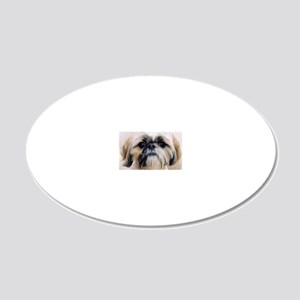 moreshihtzu 20x12 Oval Wall Decal
