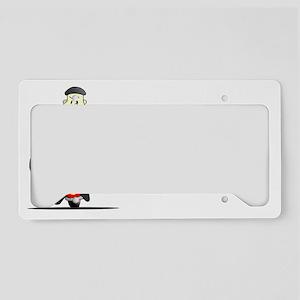 Global-Warming-(dark) License Plate Holder
