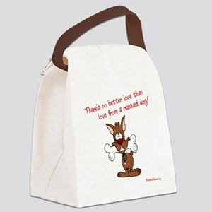 2-theres_no_better_love_red-white Canvas Lunch Bag