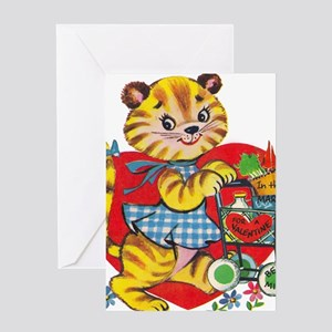 CityKitty Greeting Card