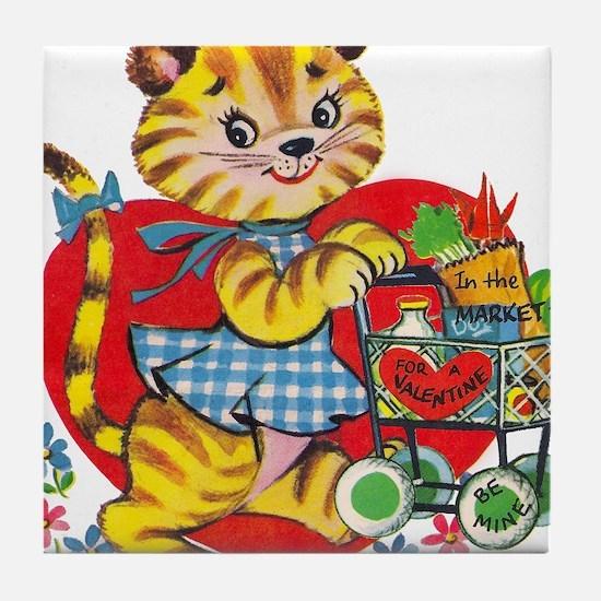 CityKitty Tile Coaster