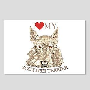 Wheaten Scottish Terrier Love My Postcards (Packag