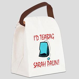 Teabag Canvas Lunch Bag