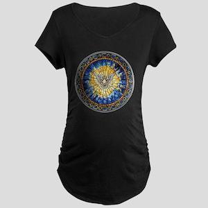 3-HolySprit_Trans_ Maternity Dark T-Shirt