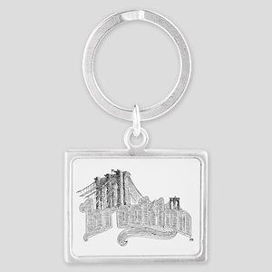 6-brooklyn Landscape Keychain