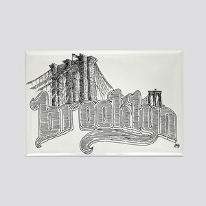 6-brooklyn Rectangle Magnet