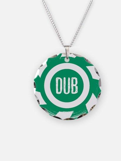 Dub_Green Necklace Circle Charm