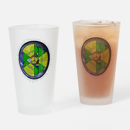 nuclear-recycle Drinking Glass