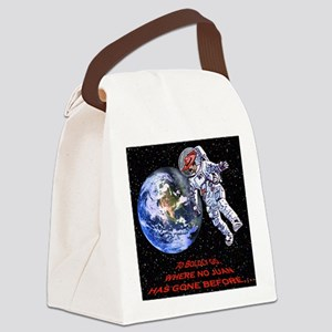 SPACE JUAN mouse pads Canvas Lunch Bag