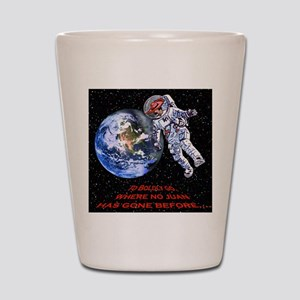 SPACE JUAN mouse pads Shot Glass