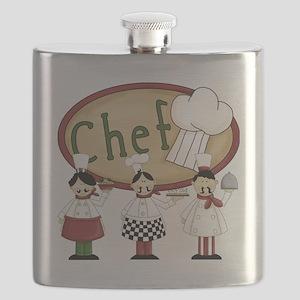 Three Chefs Flask