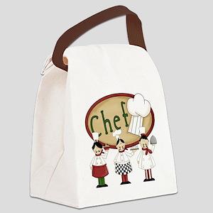 Three Chefs Canvas Lunch Bag