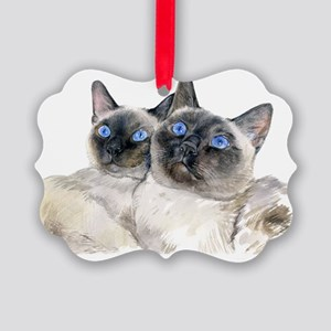 BllueEyedSimCats.REWORKED Picture Ornament