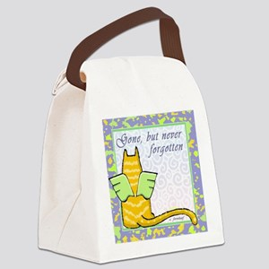 catneverfogotten Canvas Lunch Bag