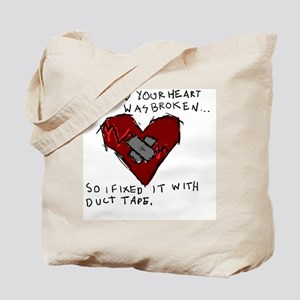 Good Broken Heart Tote Bag