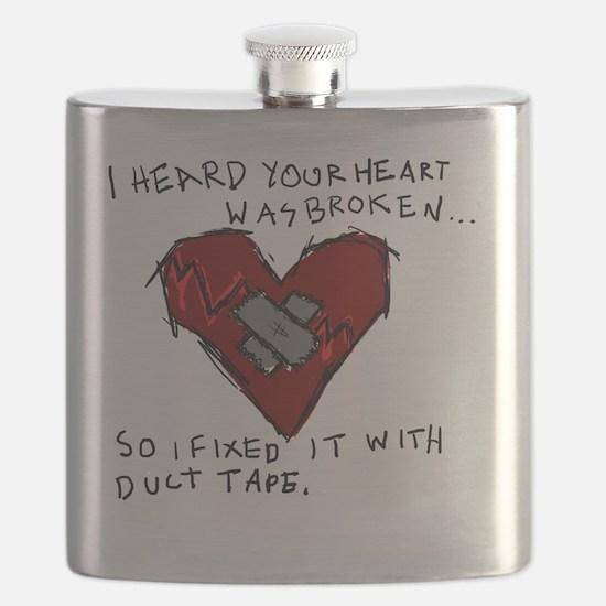Good Broken Heart Flask