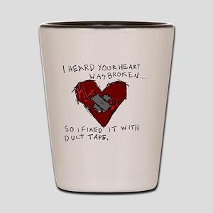 Good Broken Heart Shot Glass
