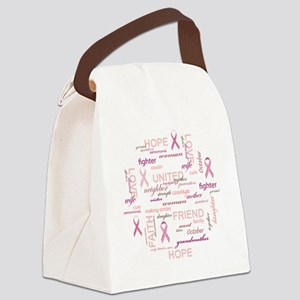 ImaSurvivorSticker Canvas Lunch Bag