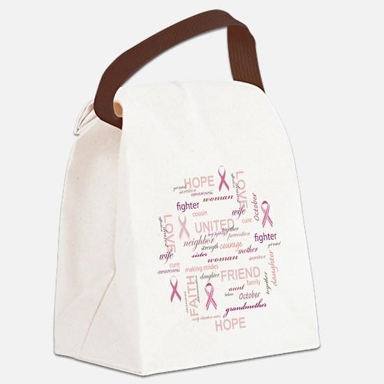 ImaSurvivorSticker Canvas Lunch Bag