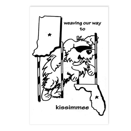 INFL Postcards (Package of 8)