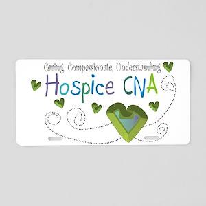 Hospice CNA Aluminum License Plate
