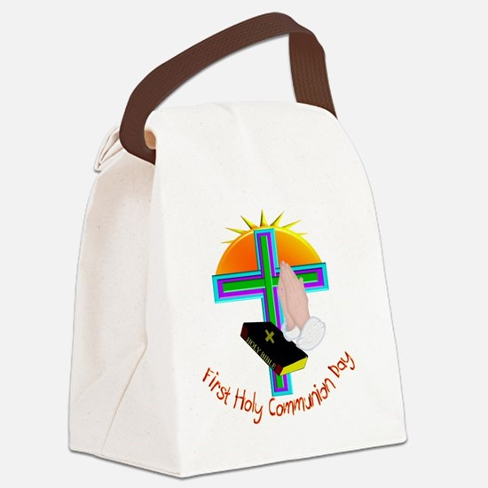 First Holy Com Day Canvas Lunch Bag
