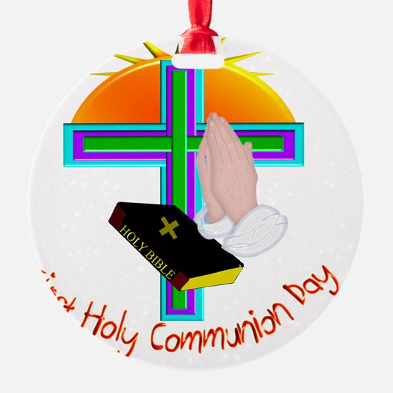 First Holy Com Day Ornament