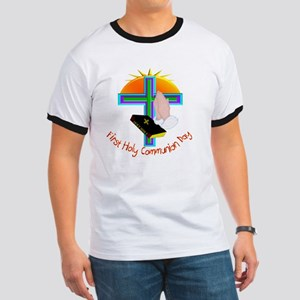 First Holy Com Day Ringer T