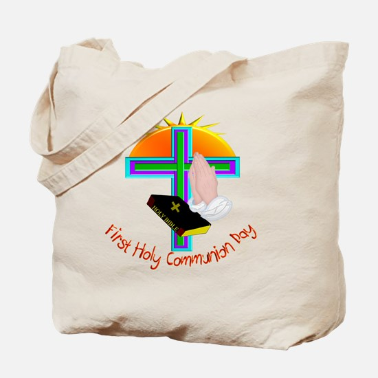 First Holy Com Day Tote Bag