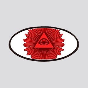 All Seeing Eye Red Patches