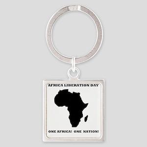 AFRICANLIBIBERATIONDAY Square Keychain