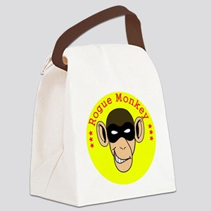 RogueMonkeyColor1 Canvas Lunch Bag